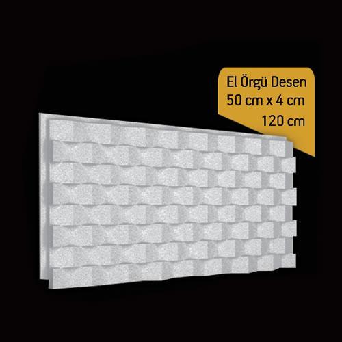Antik Söve Yapı - Duvar Panelleri | DP-El Örgü Desen