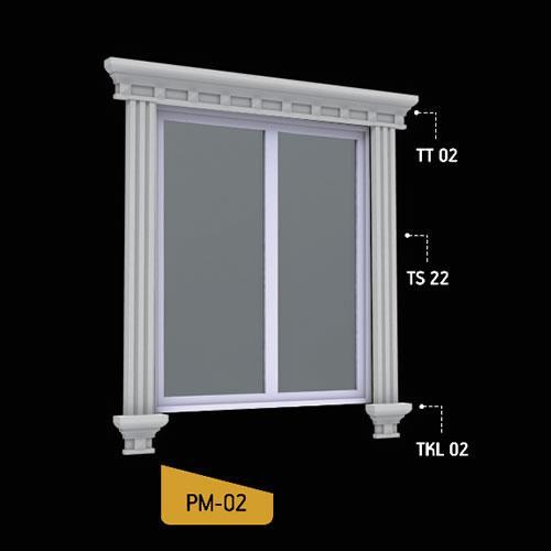 Antik Söve Yapı - Pencere Modelleri   PM-02