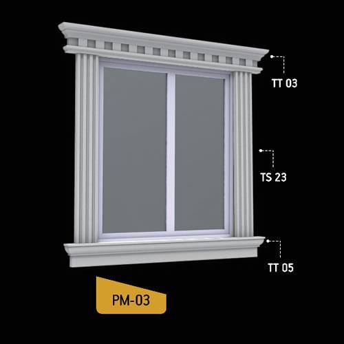 Antik Söve Yapı - Pencere Modelleri   PM-03