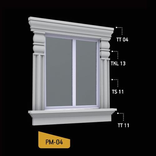 Antik Söve Yapı - Pencere Modelleri   PM-04
