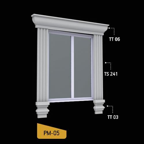 Antik Söve Yapı - Pencere Modelleri   PM-05