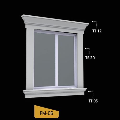 Antik Söve Yapı - Pencere Modelleri   PM-06