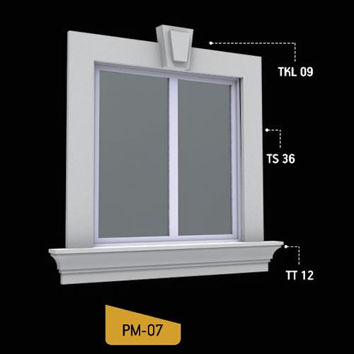 Antik Söve Yapı - Pencere Modelleri | PM-07