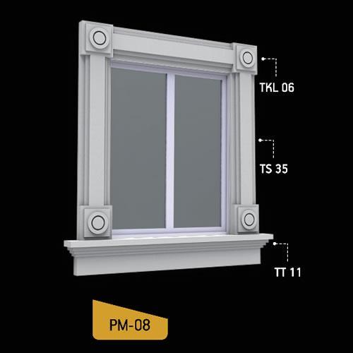 Antik Söve Yapı - Pencere Modelleri   PM-08