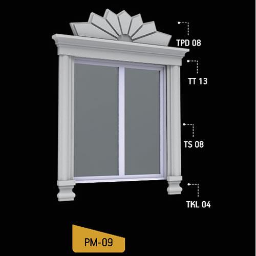 Antik Söve Yapı - Pencere Modelleri   PM-09