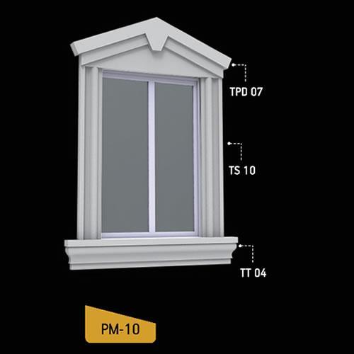 Antik Söve Yapı - Pencere Modelleri   PM-10