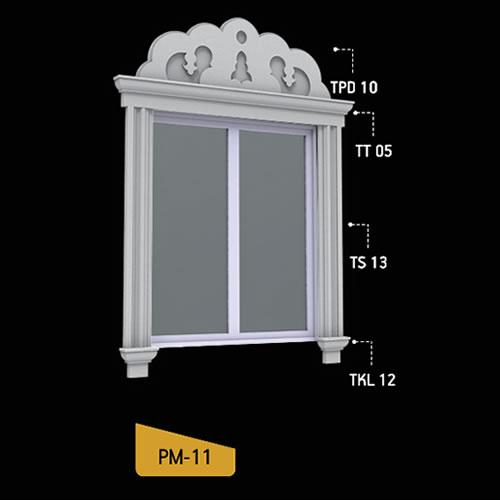 Antik Söve Yapı - Pencere Modelleri   PM-11