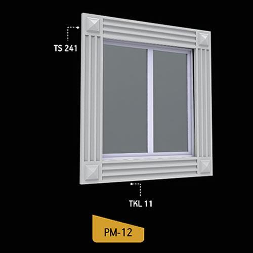 Antik Söve Yapı - Pencere Modelleri   PM-12