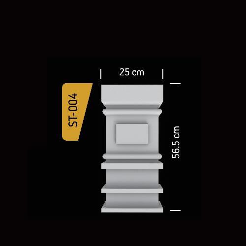Antik Söve Yapı - Sütun ve Kaideler | ST-004